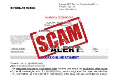 domain-seo-service-registration-corp-scam
