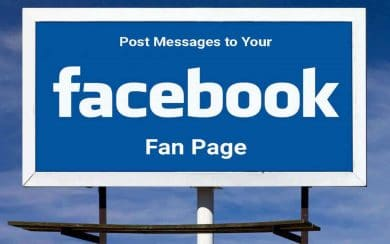 post-messages-to-facebook-fan-page-1
