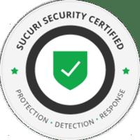sucuri security certified